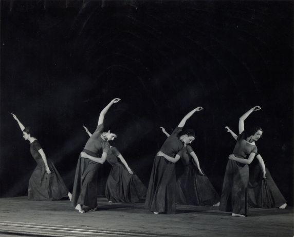 Ensemble, Wayne University Dance Workshop, circa 1933-1936