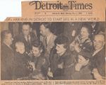 DP's Arriving in Detroit...Detroit Times November 1, 1948