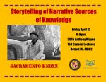 Sacramento Knoxx and Storytelling Event