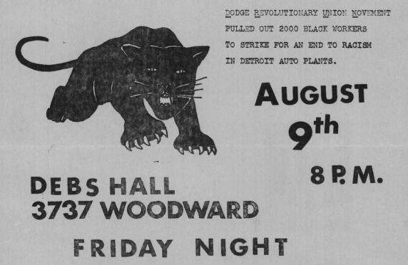 Handbill, DRUM, 1968 (cropped)