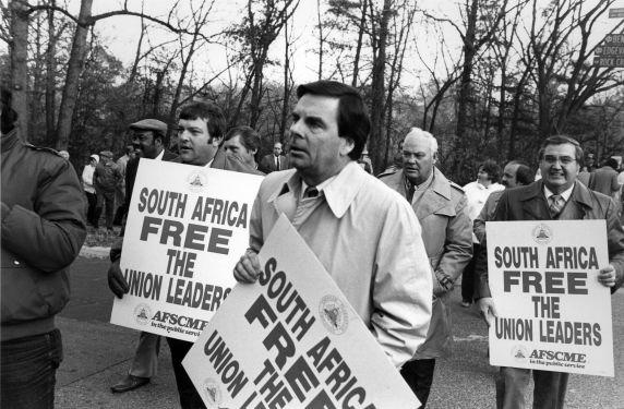 (12111) AFSCME against apartheid