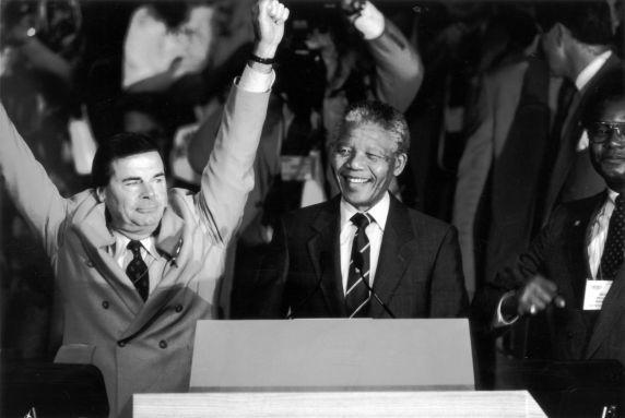 (11990) Mandela at AFSCME Convention