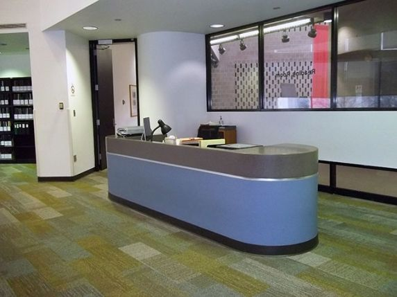 (32645) Walter P. Reuther Library Reading Room Reference Desk