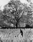 Cemetery worker, 1982