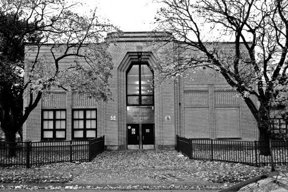 Exterior view of Von Stueben School