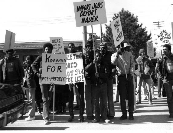 (WSAV002727_005) Poletown, Demonstrations, 1981