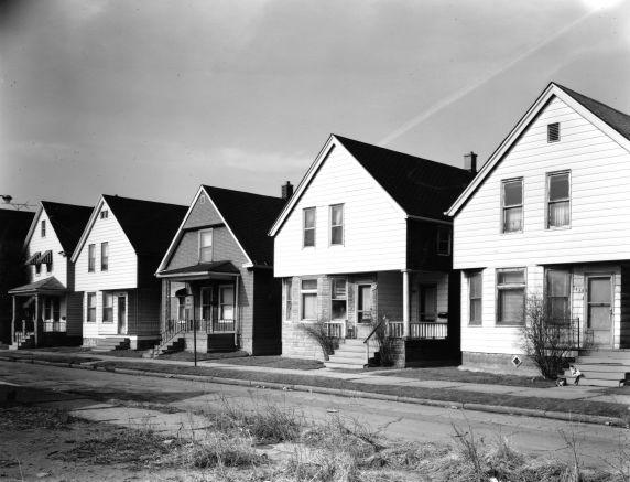 (WSAV002727_018) Poletown, Architecture, Sargent Street, 1981