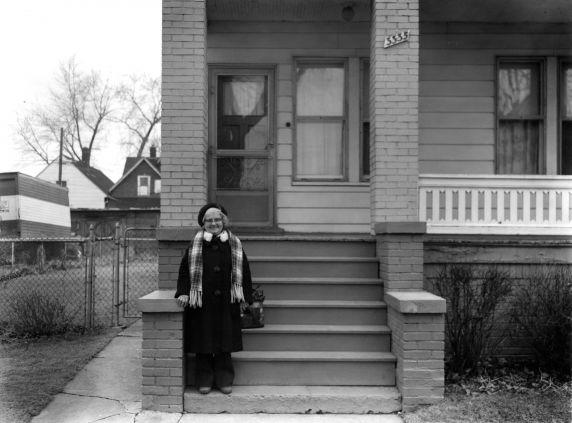 (WSAV002727_030) Poletown, Residents, Kanter Street, 1981