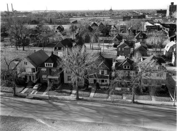 (WSAV002727_037) Poletown, Aerial Views, 1981
