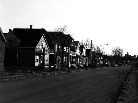 (WSAV002727_039) Poletown, Street Views, Newton Street, 1981