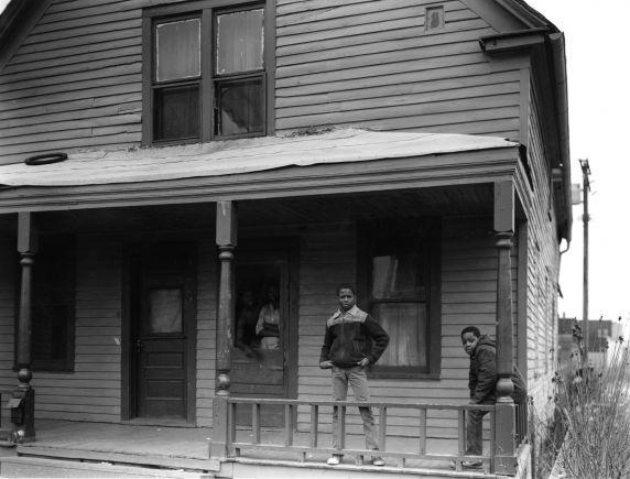 (WSAV002727_046) Poletown, Neighborhood Views, Trombly Street, 1981
