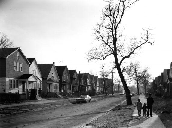 (WSAV002727_049) Poletown, Residential Views, Adele Street, 1981