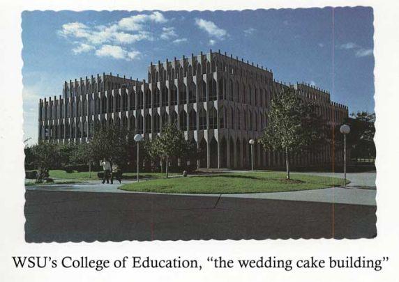 Buildings, College of Education, Detroit, Michigan