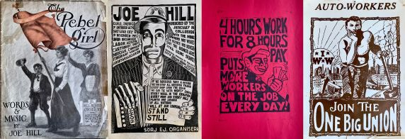 IWW Poster Collage