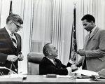 (24819) Johnson signs DC school cafeteria bill