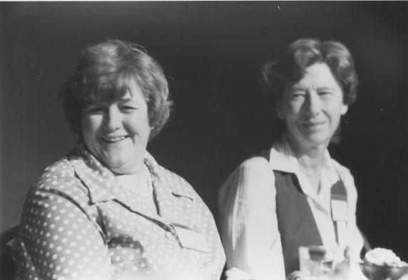 (2227) Yvonne Brill, Ada Pressman, 1979 National Convention