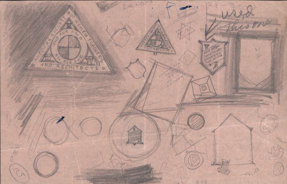 (32368) ASWEA Logo Sketches, 1920
