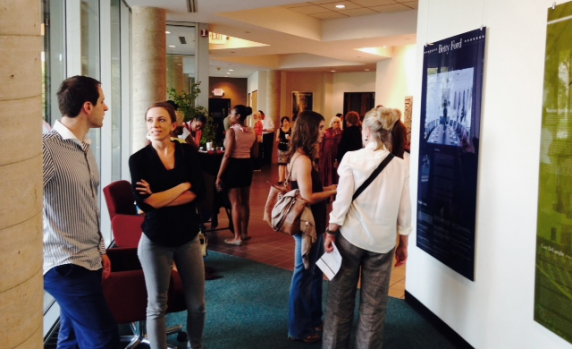 (30649) Attendees at Dance Pioneers exhibit reception