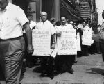 (7696) Blind vendors protest, New York