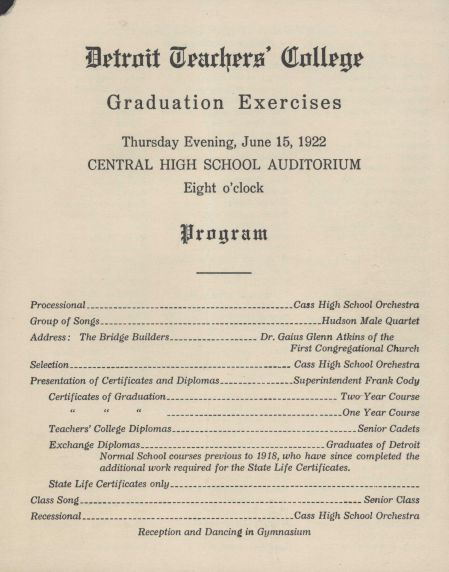 Graduation Programs Graduation Programs Graphic Graduation Programs