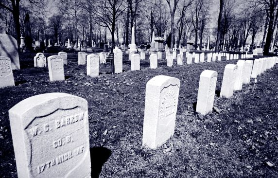 (2207_3) Elmwood Cemetery, Detroit, Michigan, 1939