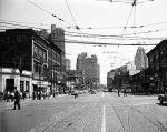 (vmc4647) Michigan Avenue, Skid Row, Detroit, 1953